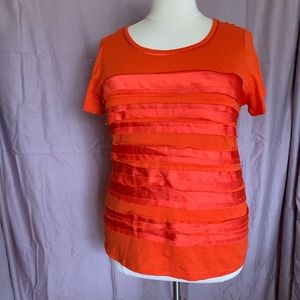 CATO Ruffled Front Top  18/20